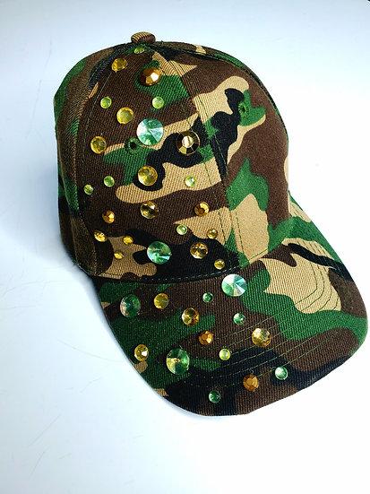 BLINGING CAMO HAT