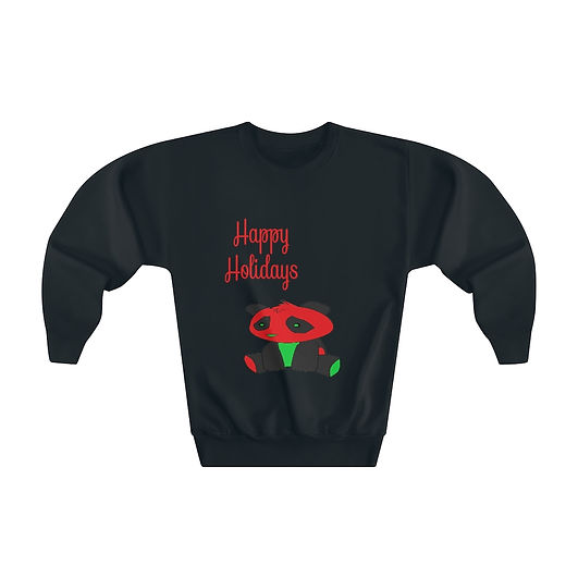 happy-holidays-youth-crewneck-sweatshirt