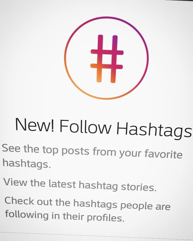 עוקבים אחרי התיוגים שבהם נמצא התוכן שאתם מתעניינים בו, הפוסטים המובילים מהתיוג יופיעו לכם בפיד.