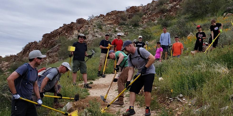 White Tank Trail Day with Arizona Interscholastic MTB League
