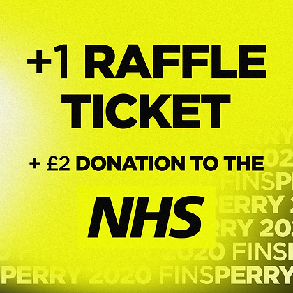 £2 Donation to the NHS - Includes 1 Raffle Ticket