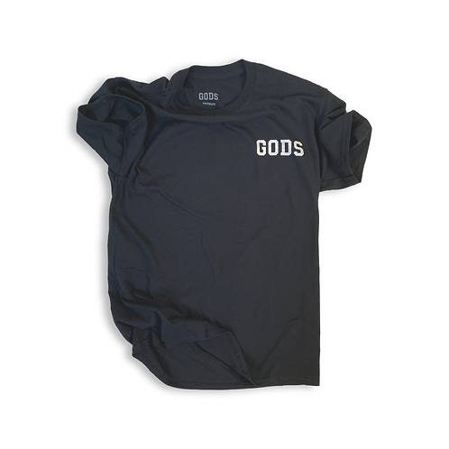 GODS BLACK T-SHIRT