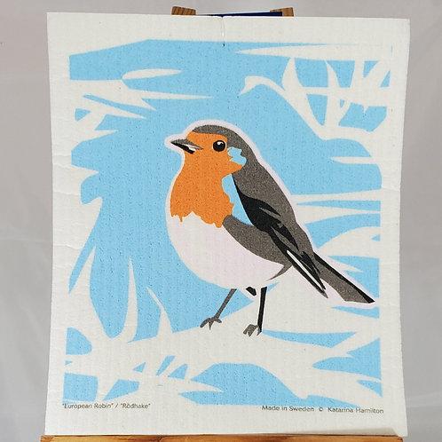 Swedish Dishcloth - Robin