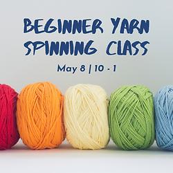 yarn spinning class