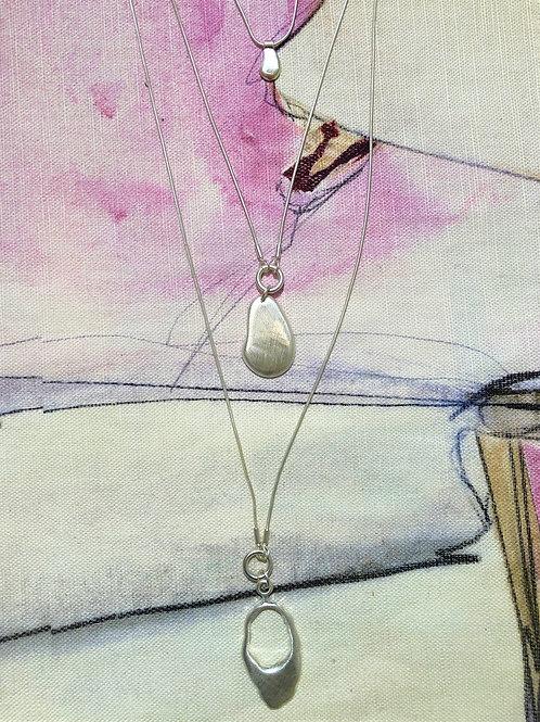 Necklace Alina Organic Silver