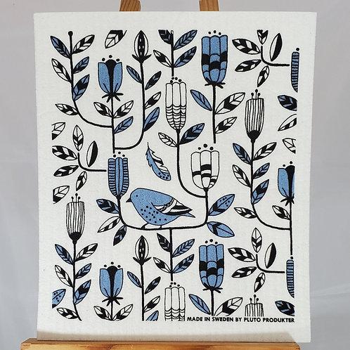 Swedish Dishcloth - Blue Bird