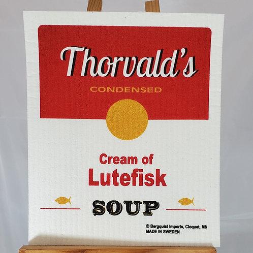 Swedish Dishcloth - Lutefisk Soup