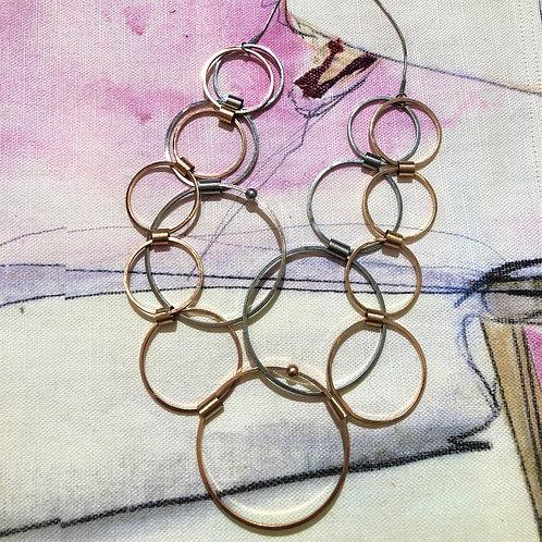 Necklace Tamara Multi Rings