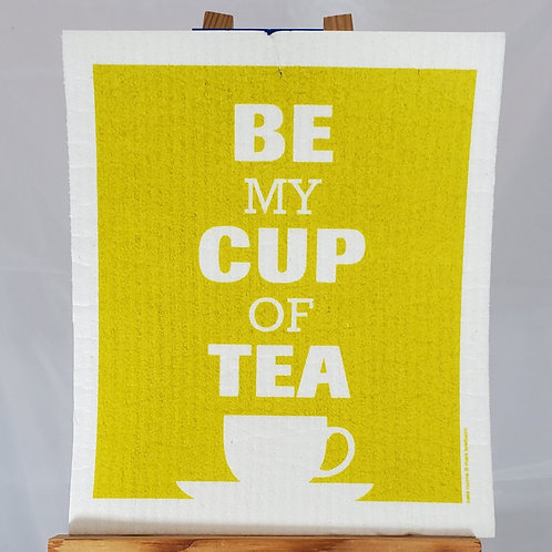 Swedish Dishcloth - Be My Cup of Tea