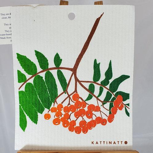 Swedish Dishcloth - Berries