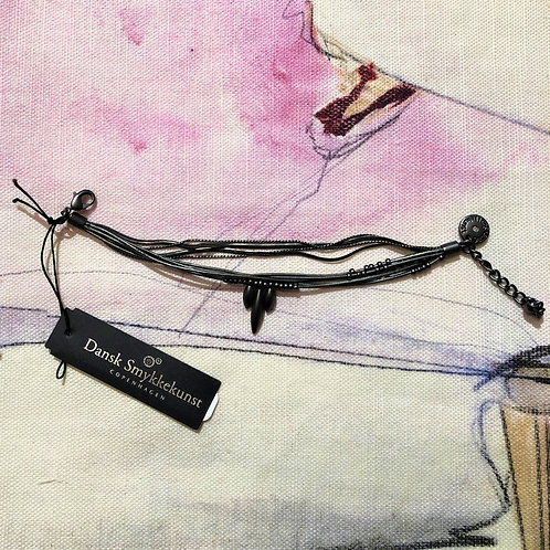 Bracelet Daisy Bloom Hematite