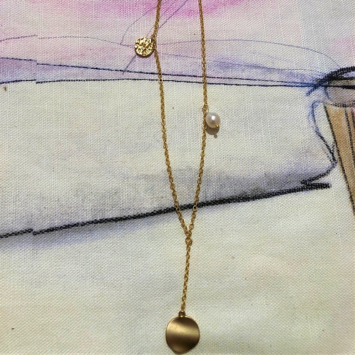 Necklace Audrey Simple Chain Gold