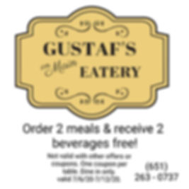 Gustafs On Main Eatery Coupon