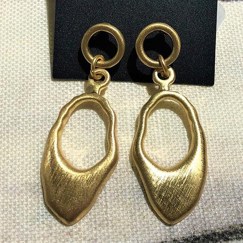 Earring Alina Organic Gold