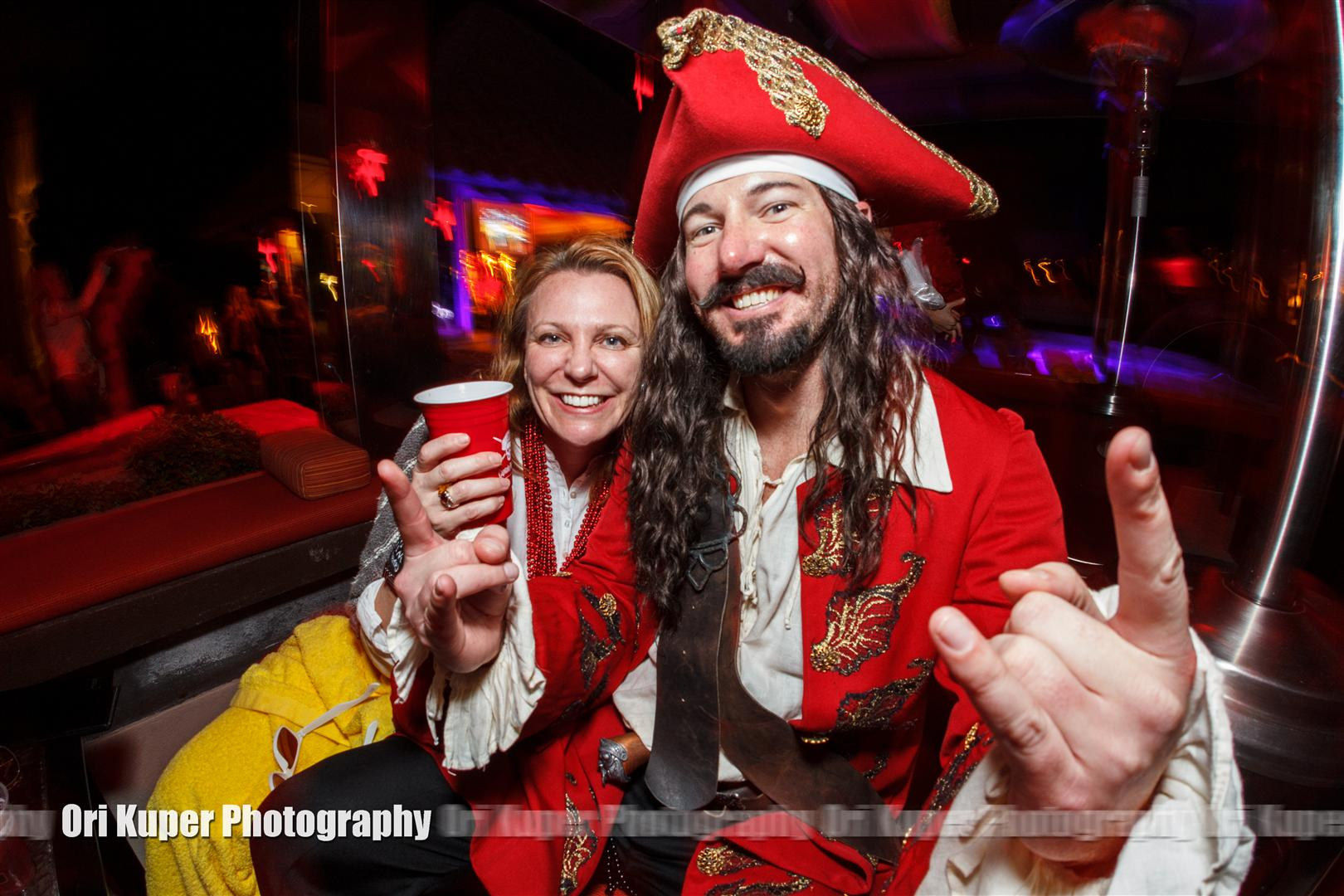Marketing Promo Event Captain Morgan