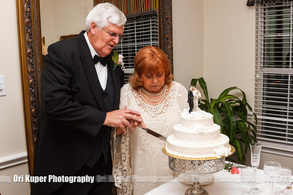 The Cake Cutting Taylor and Steve