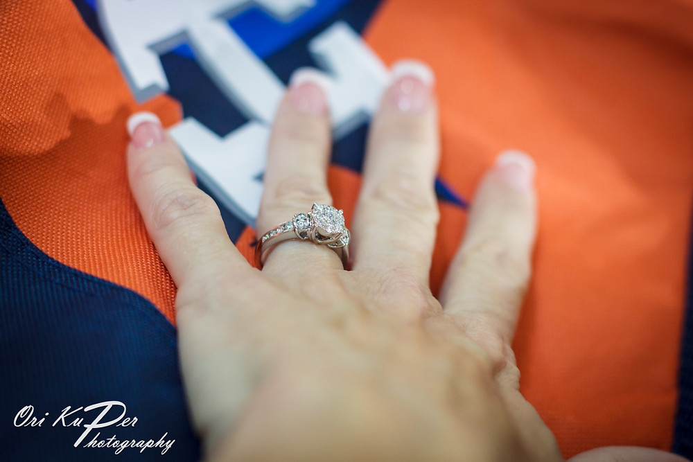 Houston Astros surprise proposal and engagement photoshoot. Photos by Ori Kuper www.HOUvideographers.com