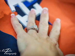They scored a home run! And a ring... A Houston Astros surprise proposal and engagement photoshoot