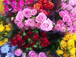 Bouquet de roses variées 1.99€