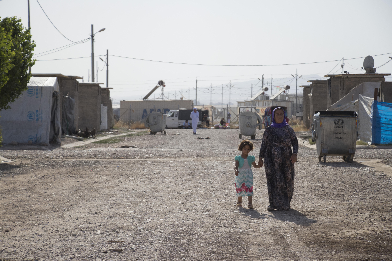 kurdistan_flygtningelejr