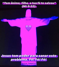 Nosso Cristo Redentor!