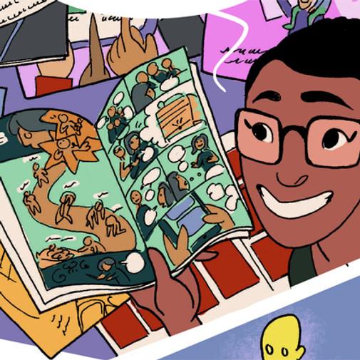 More Than Superheroes: Comics, Creativity, and Education with Golnar Nabizadeh