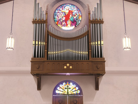 Announcing the Elliott Family Antiphonal Organ
