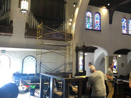 Austin Organ Removal, Day 1