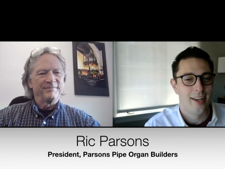 Update and Conversation with Ric Parsons