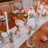 Décoration de table de mariage par Sylvie Borderie Wedding Designer à Bordeaux