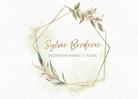 Logo de Sylvie Borderie Wedding designer et Floral Designer