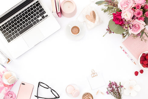 haute-stock-photography-pink-red-flatlay