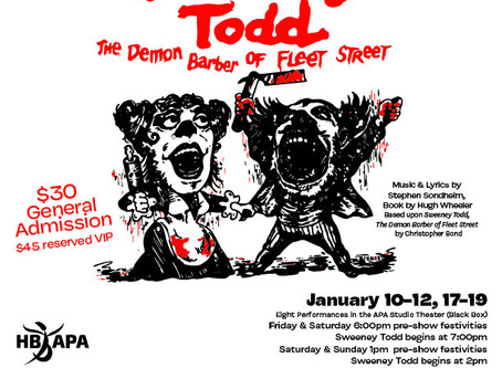 "REVIEW: ""Sweeney Todd"" – Academy for the Performing Arts, Huntington Beach"