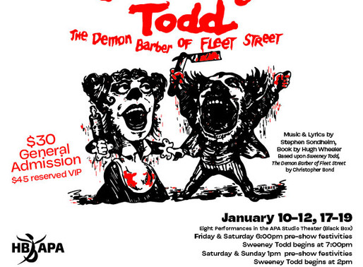 """REVIEW: """"Sweeney Todd"""" – Academy for the Performing Arts, Huntington Beach"""