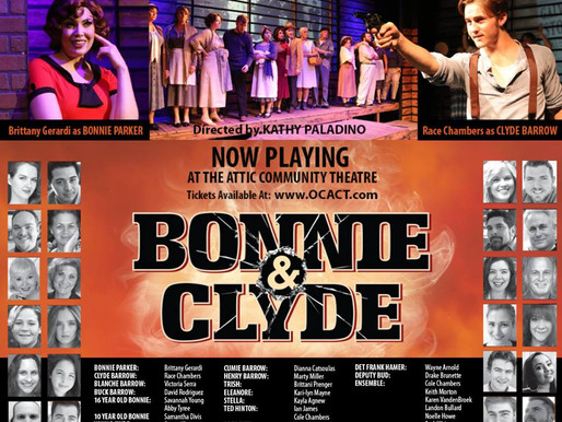 """REVIEW – """"Bonnie & Clyde,"""" Attic Community Theatre and JD Theatricals"""