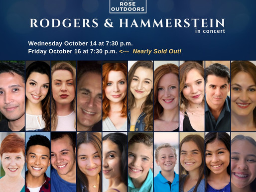 "REVIEW: ""Rodgers & Hammerstein In Concert""—Rose Center Theater Outdoors"