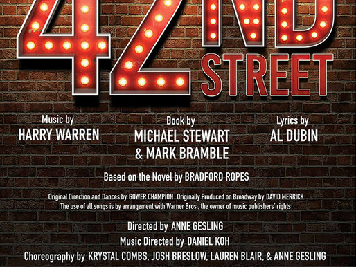 REVIEW: 42nd Street - Morgan-Wixson Theatre, Santa Monica