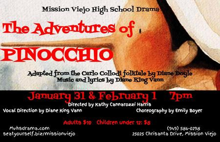REVIEW: The Adventures of Pinocchio, - Mission Viejo High School Drama