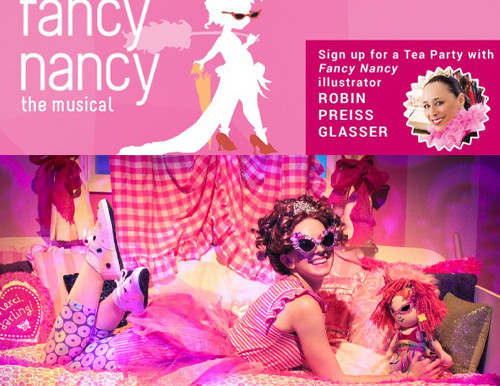 REVIEW- Fancy Nancy, The Musical - Chance Theater