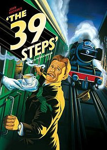 """REVIEW: """"The 39 Steps"""" — Costa Mesa Playhouse"""
