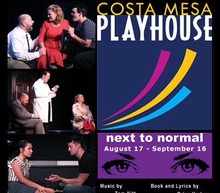 """REVIEW- """"NEXT TO NORMAL,"""" Costa Mesa Playhouse"""
