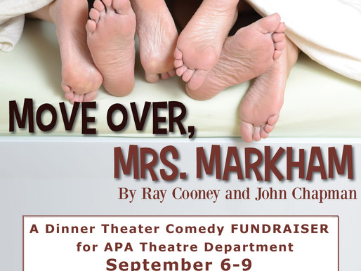 "REVIEW - ""Move Over, Mrs. Markham,"" Academy for the Performing Arts"