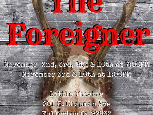 REVIEW: The Foreigner - Fullerton Theatre