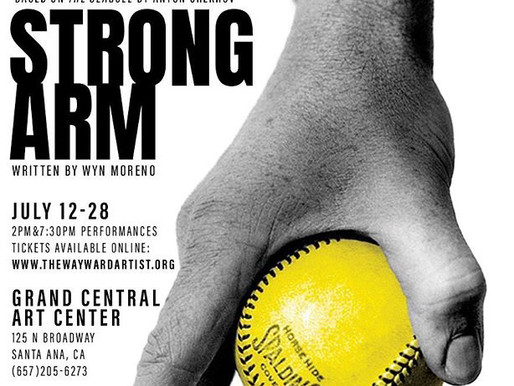 """REVIEW: """"Strong Arm"""" — World Premiere, The Wayward Artist"""