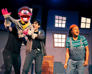 Avenue Q Christmas Eve.Avenue Q Costa Mesa Playhouse