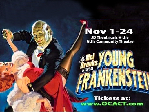 "REVIEW: ""Young Frankenstein"" —  JD Theatricals @ The Attic"
