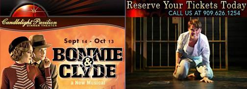 "REVIEW- ""Bonnie & Clyde"" - Candlelight Pavilion"