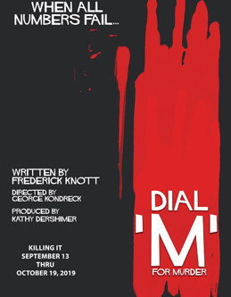 """REVIEW: """"Dial M for Murder"""" — Kentwood Players @ Westchester Playhouse"""