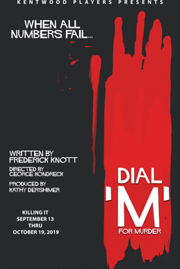 "REVIEW: ""Dial M for Murder"" — Kentwood Players @ Westchester Playhouse"