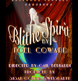 """REVIEW: """"Blithe Spirit"""" – Kentwood Players at Westchester Playhouse"""